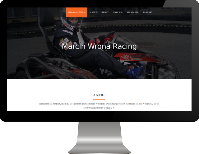 website mockup image